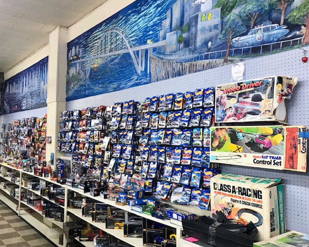 coin corner and hobbies